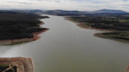 İstanbul'da barajlardaki doluluk oranı yüzde 43'ün üzerine çıktı