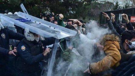 Polisten öğrencilere tehdit:  Boğaziçi misafirhanemiz sizi bekliyor!