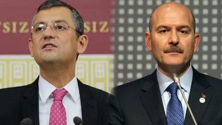 CHP'li Özel'den Soylu'ya: Sakın bize bir daha hakaret etme sonra hakaret ettiklerinin yanında bitiyorsun el etek öpüyorsun