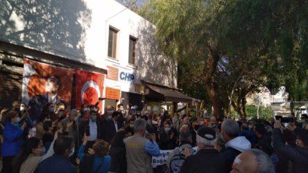 Bodrum'da Boğaziçi Üniversitesi dayanışma eylemine polis tacizi