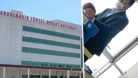 Devlet hastanesinde 'üfürükçü' skandalı!