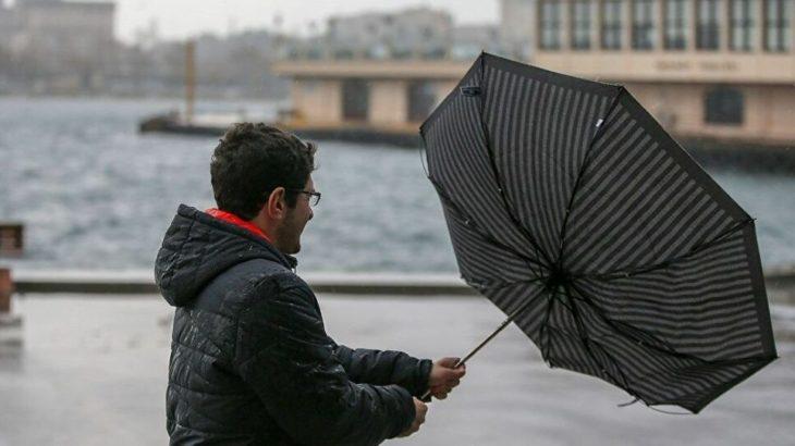 Meteoroloji'den İstanbul için 'sarı' kodlu fırtına uyarısı