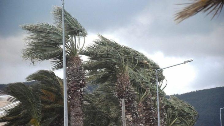Urla'da fırtına hayatı olumsuz etkiledi