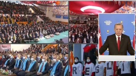 Salgın aldı başını gidiyor, AKP kongreleri tıklım tıklım devam ediyor!