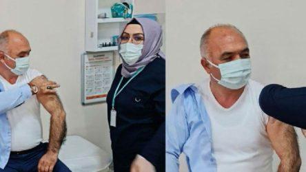 Sırası gelmeden aşı olan AKP'li başkan: Halkımızı sırasıyla aşı olmaya davet ediyorum