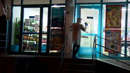 Küçükçekmece'de cerrahi maske ile silahlı soygun