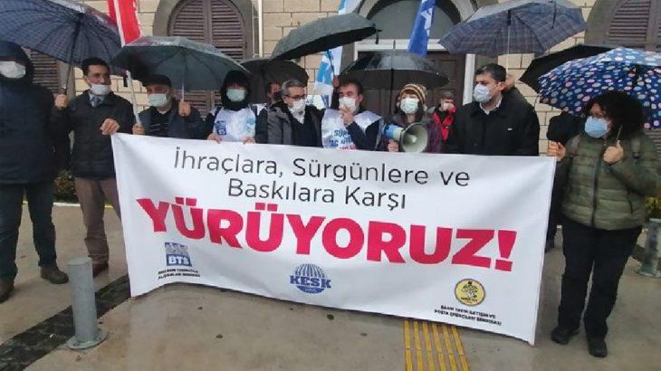 BTS ve Haber-Sen üyeleri Ankara'ya yürüyor