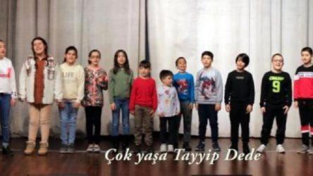 'Doğum günü' istismarı: İlkokul çocuklarıyla 'Çok yaşa Tayyip dede'