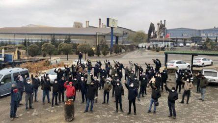 Ekmekçioğlu işçileri CHP İl Örgütü'nde açlık grevine başladılar
