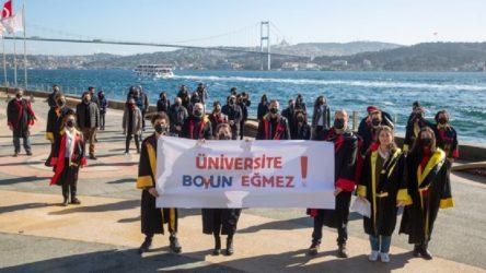 Galatasaray Üniversitesi akademisyenleri: Üniversite boyun eğmez