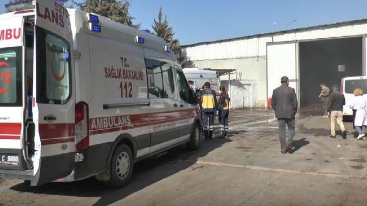 Kayseri'deki iplik fabrikasında yangın: 4 işçi hastaneye kaldırıldı