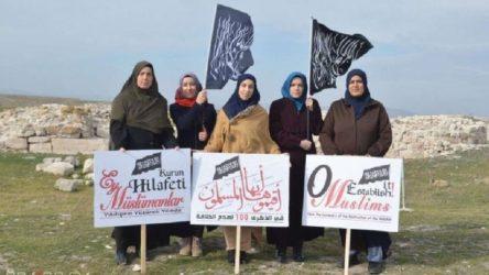 'Hilafet' çağrısı yapan 4 kadın gözaltına alındı