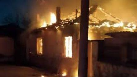 Cami tadilatında çalışan işçilerin kaldığı lojmanda yangın: 1 ölü, 2 yaralı