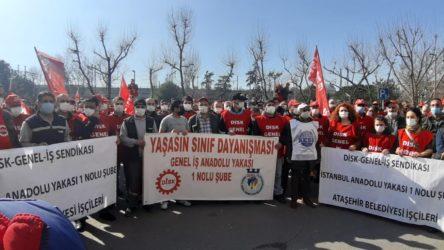 Kadıköy Belediyesi'nde grev kararı