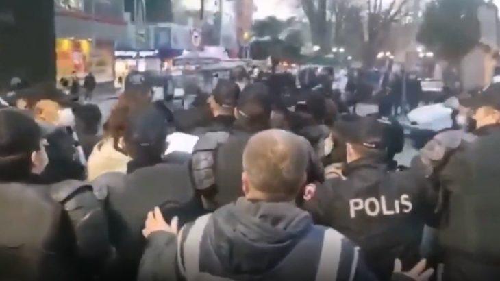 Kocaeli'nde Boğaziçi protestosuna polis müdahalesi: 17 kişi gözaltında
