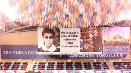 AKP bu pankartı astı: 'Devrimi devirecek devrim'