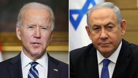 Biden, Netanyahu ile görüştü