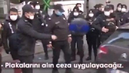 VİDEO | Korna da yasaklandı: 'Plakalarını alın...'