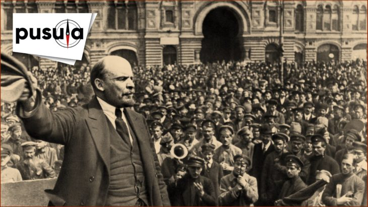 Genç kalemlerden Lenin