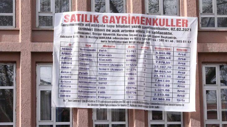 50 milyar lira açık veren SGK, gayrimenkullerini satışa çıkardı