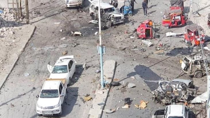 Somali'de parlamento binası önünde patlama: Yaralılar var
