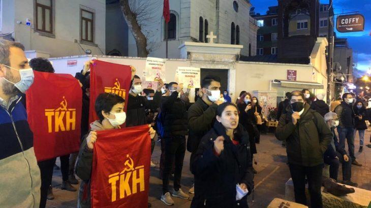 TKH: Üyelerimiz ve polis şiddetiyle gözaltına alınan tüm yurttaşlar derhal serbest bırakılmalıdır!