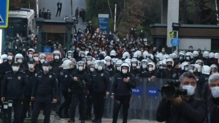 AKP Gençlik Kolları'ndan Boğaziçi öğrencilerine 'SİHA'lı tehdit!