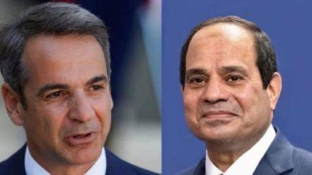 Mısır ve Yunanistan arasında 'Doğu Akdeniz ve Libya' görüşmesi