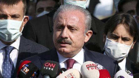 TBMM Başkanı Şentop: Siyasi partiler, Anayasa ve Siyasi Partiler kanunlarına uygun olarak siyaset yapmalıdır