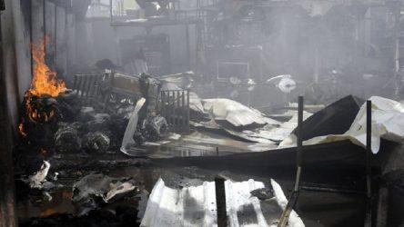 Yemen'de göçmenlerin tutulduğu gözaltı merkezinde yangın: En az 8 ölü, 170 yaralı