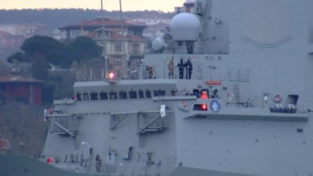İkinci İspanya savaş gemisi Karadeniz'de