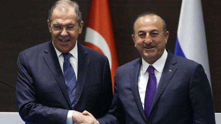 Lavrov ile Çavuşoğlu yarın bir araya gelecek
