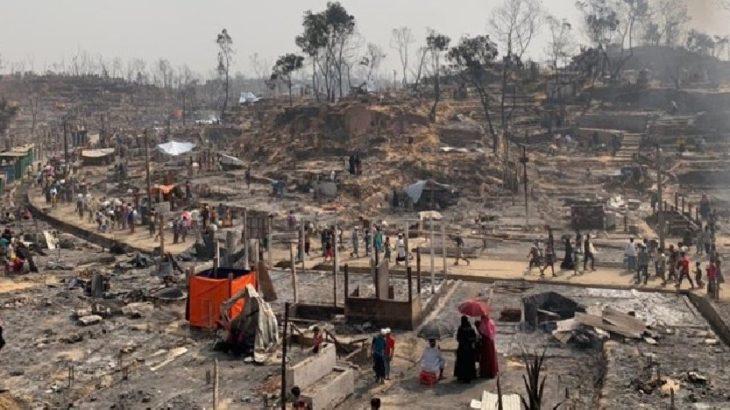 Mülteci kampında yangın: 15 kişi öldü, 400 kişiden haber alınamıyor