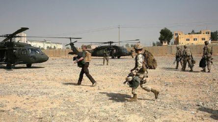 ABD öncülüğündeki Koalisyon Güçleri'nden SDG'ye helikopter eğitimi