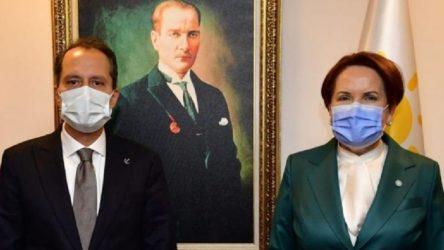 Erbakan'dan Akşener'e ziyaret