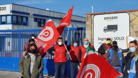 İtalya'da Amazon işçilerinden grev