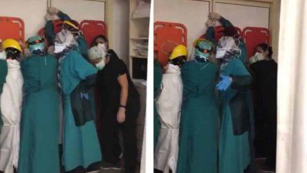 Ankara'da sağlık emekçilerine saldıranlar tahliye edildi