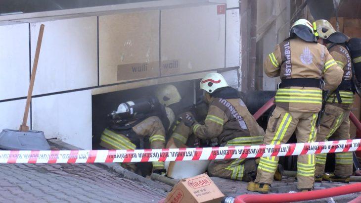 Bağcılar'da tekstil atölyesinde patlama: 4 kişi yaralandı