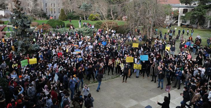 Boğaziçili öğrenciler boykotta: Arkadaşlarımız yoksa biz de yokuz