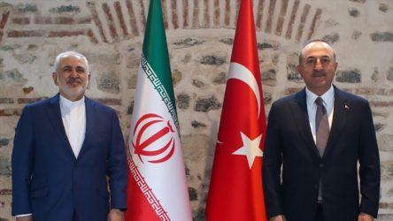 Çavuşoğlu ile İran Dışişleri Bakanı Zarif bir araya geldi