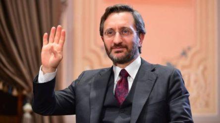 İletişim Başkanı Fahrettin Altun: Makale çarpıtılıyor, Türkiye'de mülteci merkezi kurulmayacak