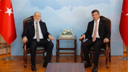 Davutoğlu ve Karamollaoğlu'ndan ortak açıklama
