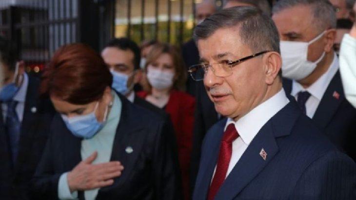Davutoğlu'ndan Akşener'e destek ziyareti