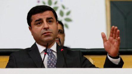 Demirtaş'tan HDP'nin kapatılması girişimine ilk yorum