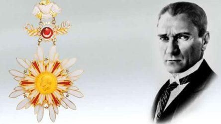 Atatürk kabartmasının devlet madalyalarından çıkarılmasının nedeni belli!