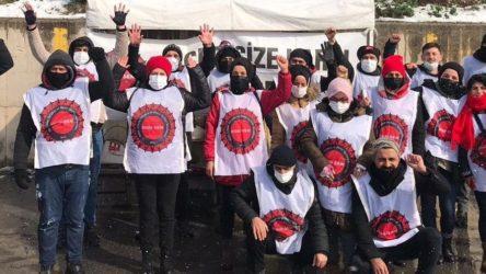 Direnişteki Migros depo işçilerine polis saldırısı: 22 işçi gözaltına alındı