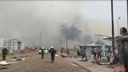 Ekvator Ginesi'nde patlama: En az 20 ölü, 600 yaralı