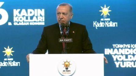 Erdoğan'dan 'kadına şiddet' açıklaması: Zaman zaman rastladığımız olumsuzluklar...