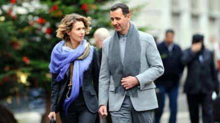 Covid-19'a yakalanan Beşar ve Esma Esad hakkında açıklama