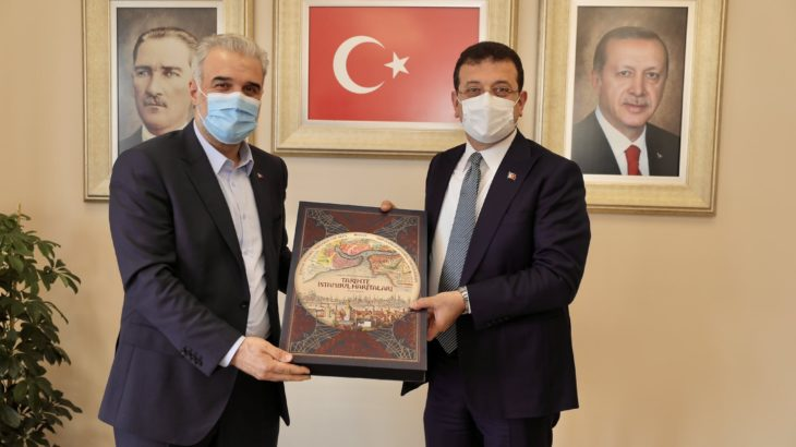 İmamoğlu'nun ziyaret ettiği AKP'li Kabaktepe: Kendimi Osmanlı İmparatorluğu'nun, payitahtının il başkanı olarak görüyorum